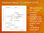 gartner magic quadrant q108