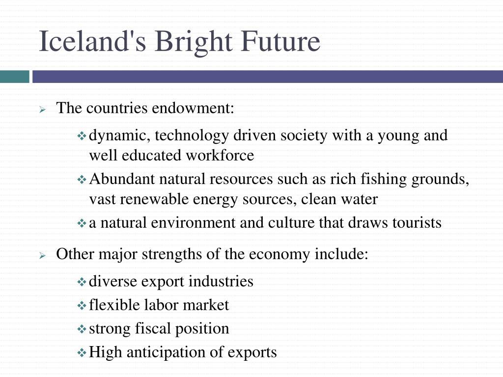 Iceland's Bright Future