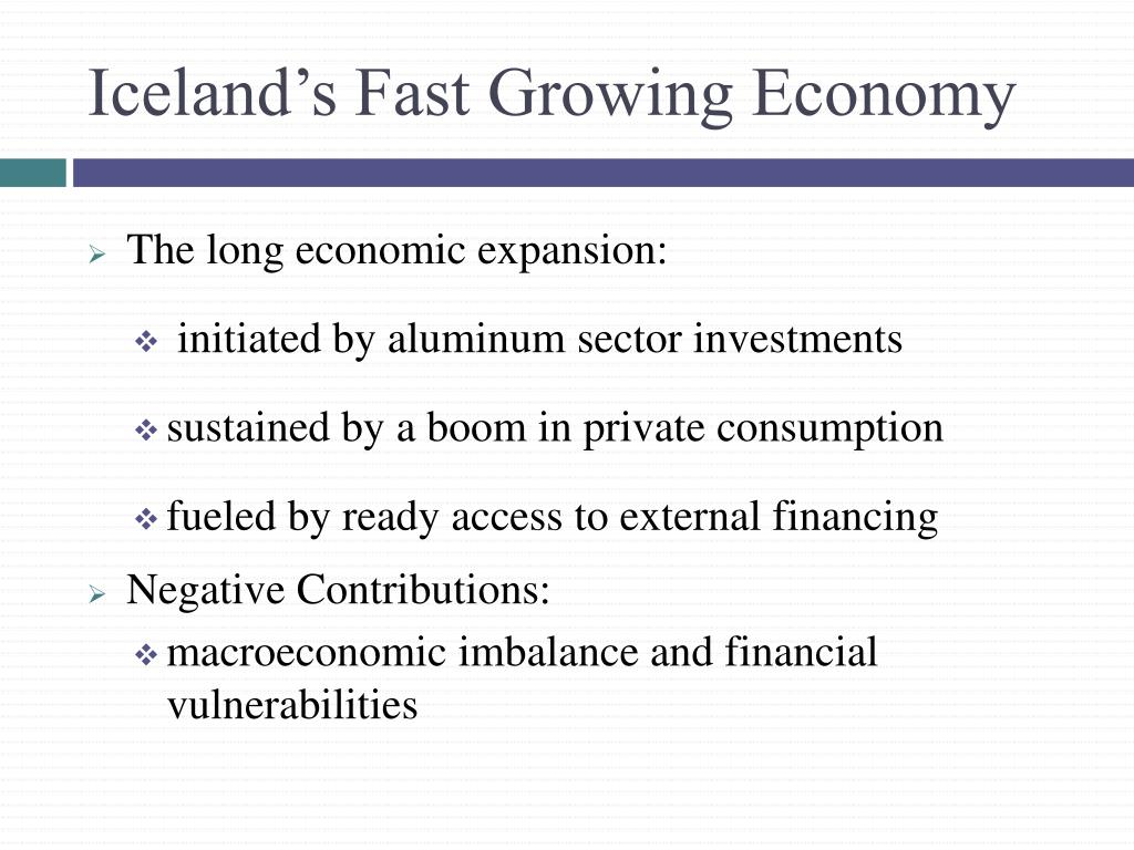 Iceland's Fast Growing Economy