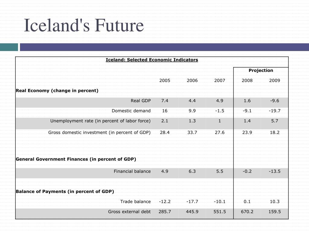 Iceland's Future