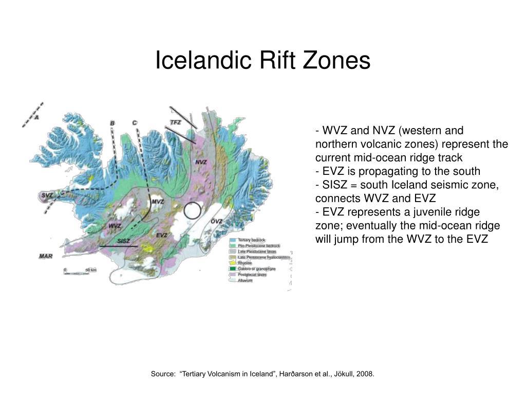 Icelandic Rift Zones