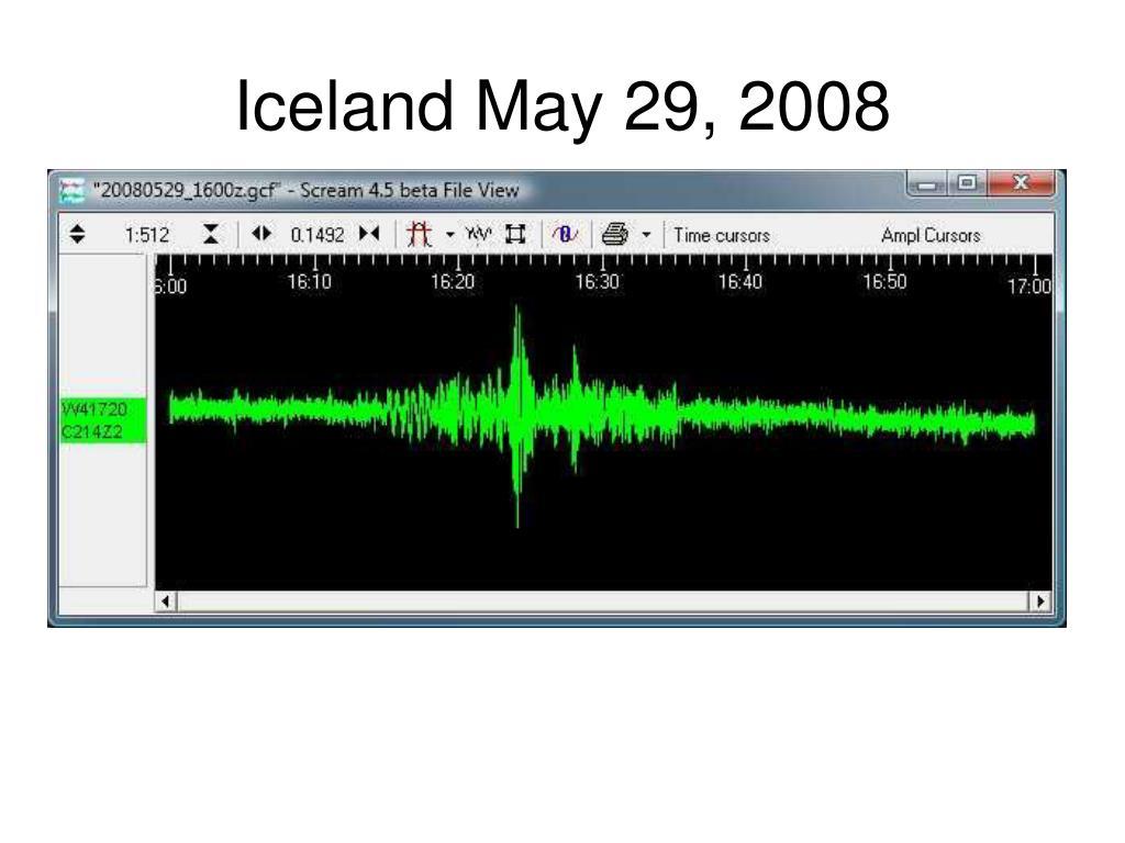 Iceland May 29, 2008