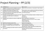 project planning pp 2 3