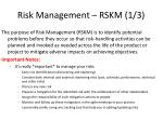 risk management rskm 1 3