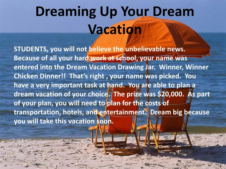 vacation powerpoint