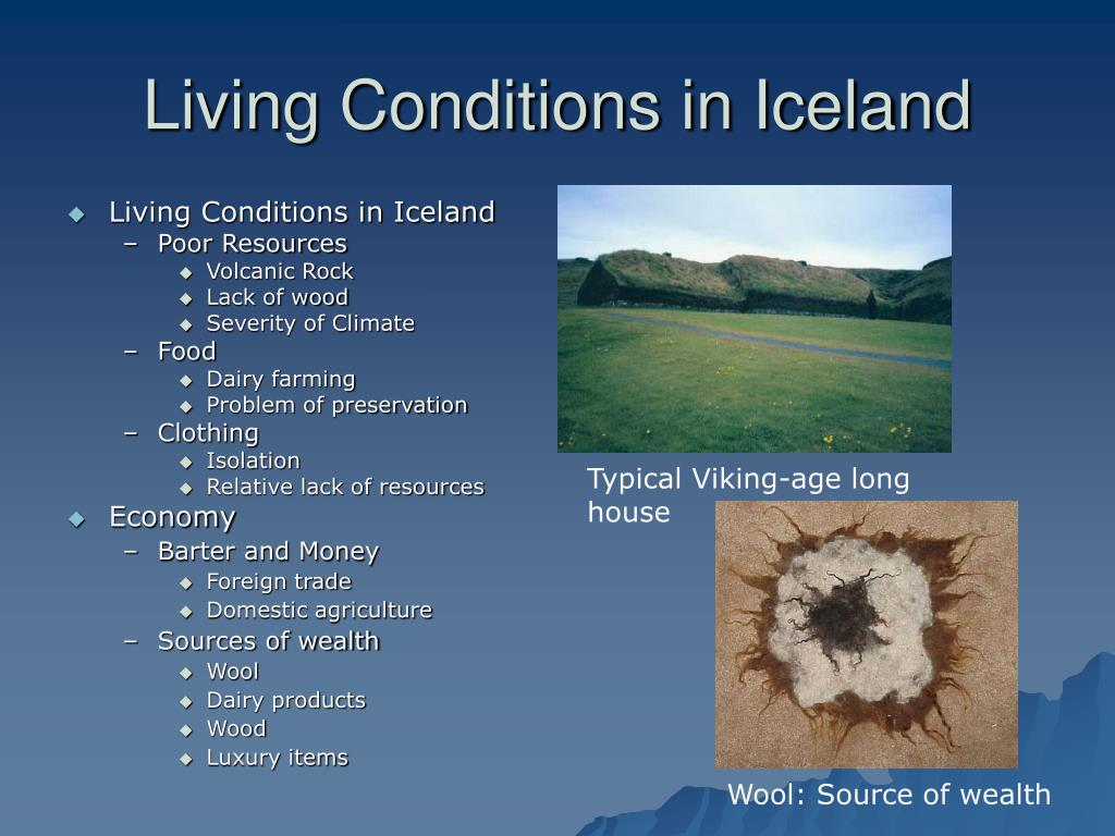 Living Conditions in Iceland