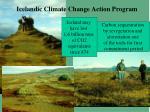 icelandic climate change action program