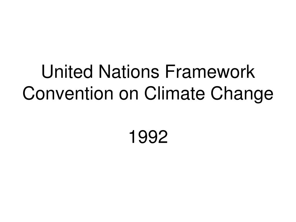 United Nations Framework