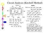 circuit analysis kirchoff method
