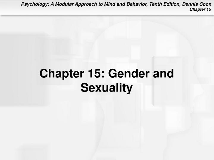 chapter 15 gender and sexuality n.