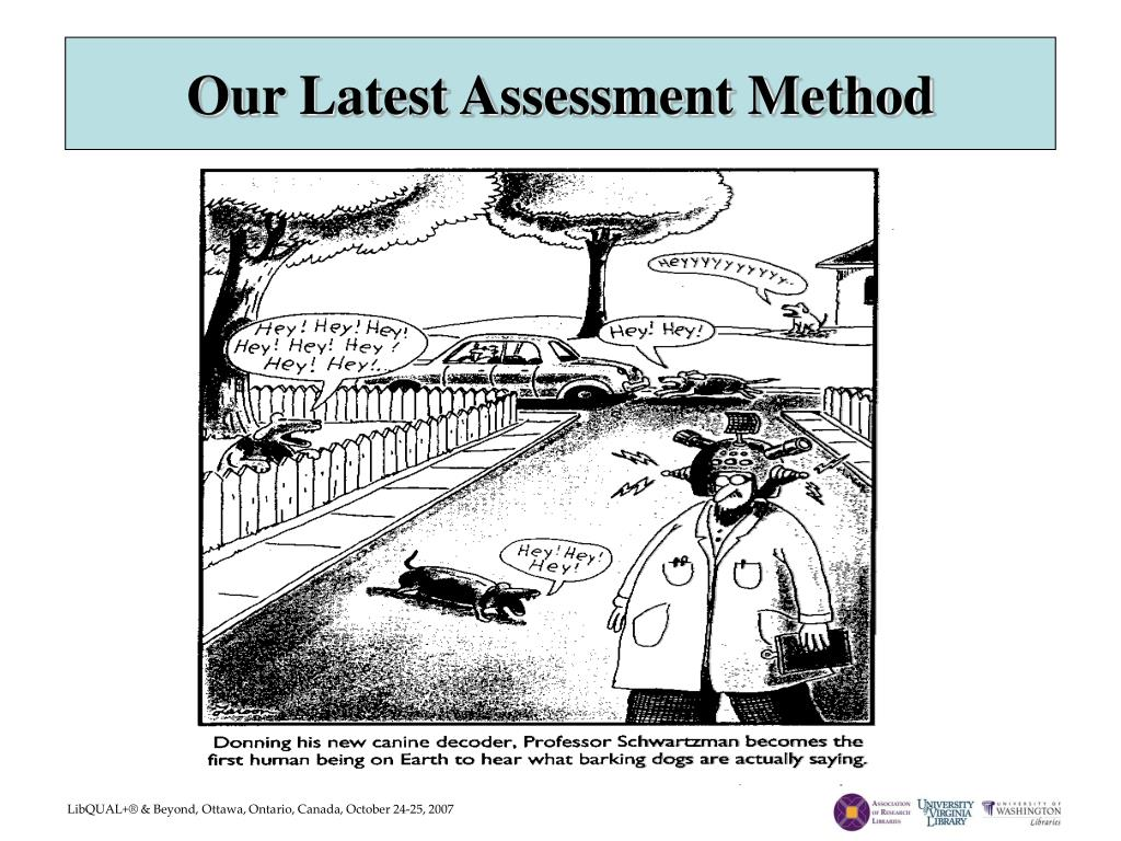 Our Latest Assessment Method