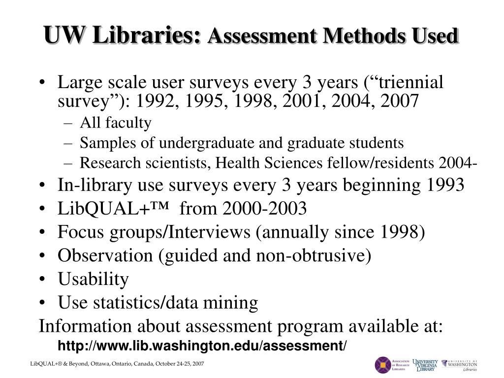 UW Libraries: