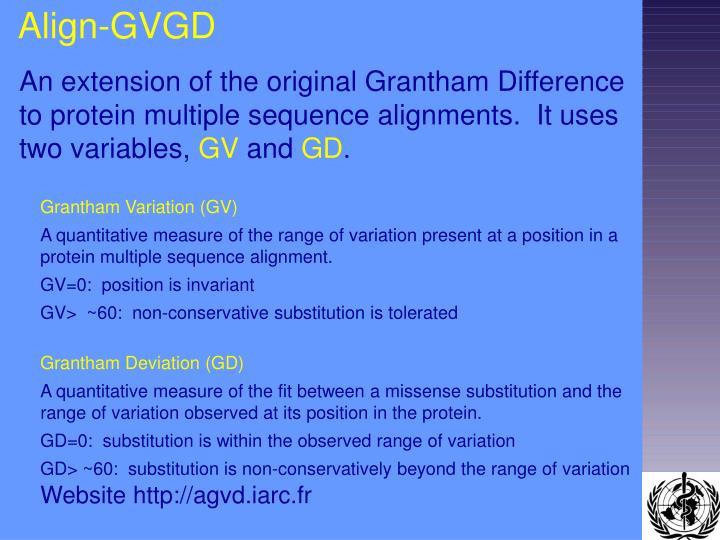 Align-GVGD
