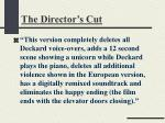 the director s cut1