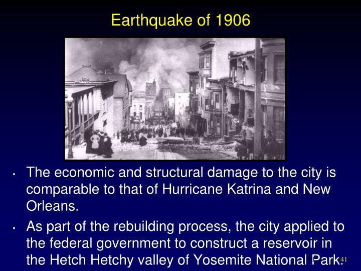 Earthquake of 1906