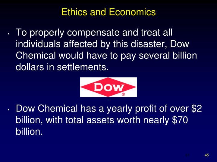 Ethics and Economics