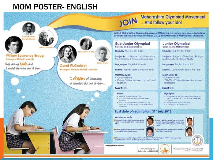 MOM Poster- English