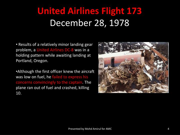 united airlines 173