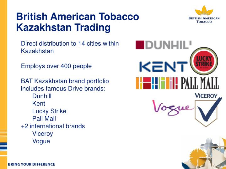 British American Tobacco Kazakhstan Trading