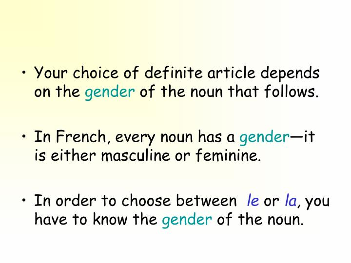 Your choice of definite article depends on the