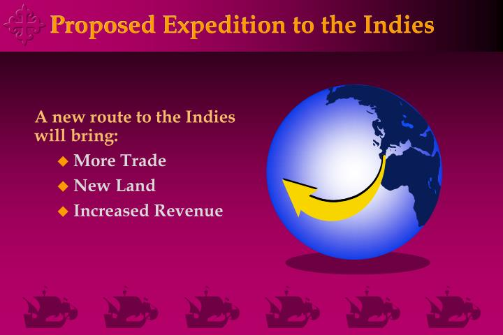 Proposed Expedition to the Indies