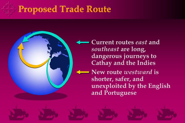 Proposed Trade Route