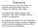 engineering