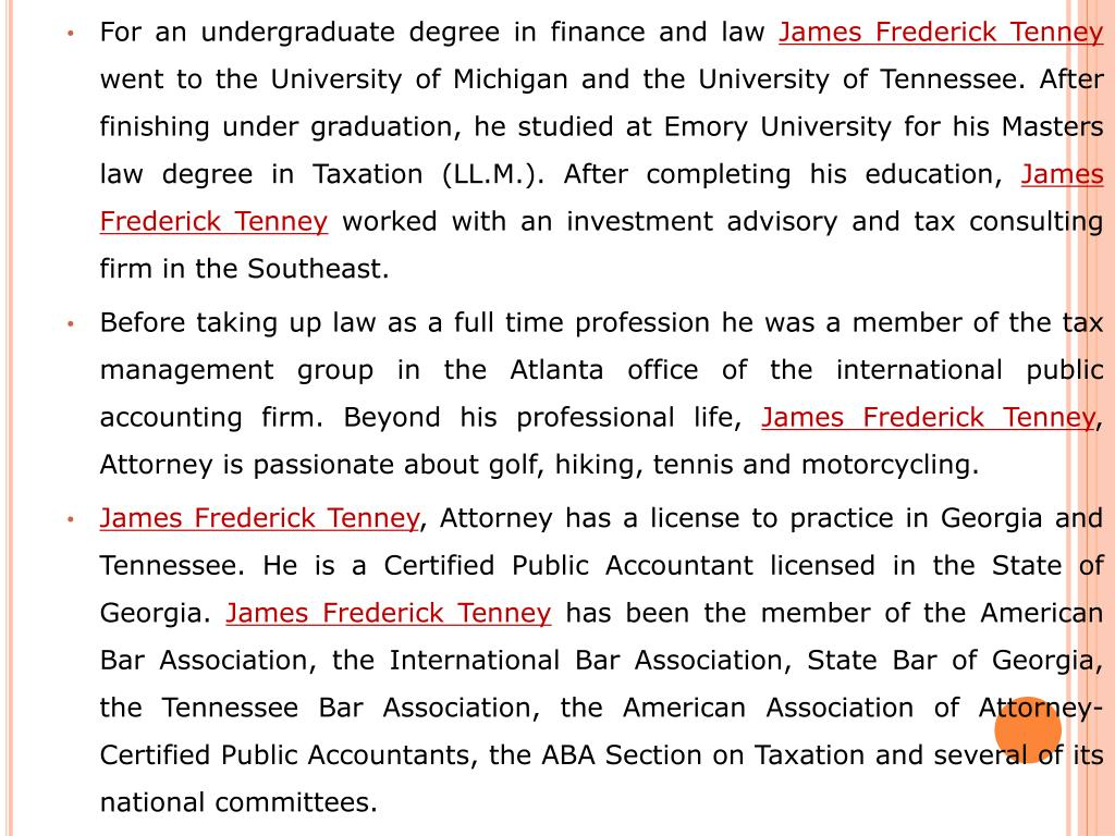 For an undergraduate degree in finance and law