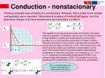 conduction n on stacion ary1