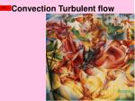 convection turbulent flow