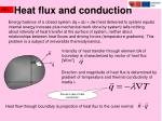 heat flux and conduction1