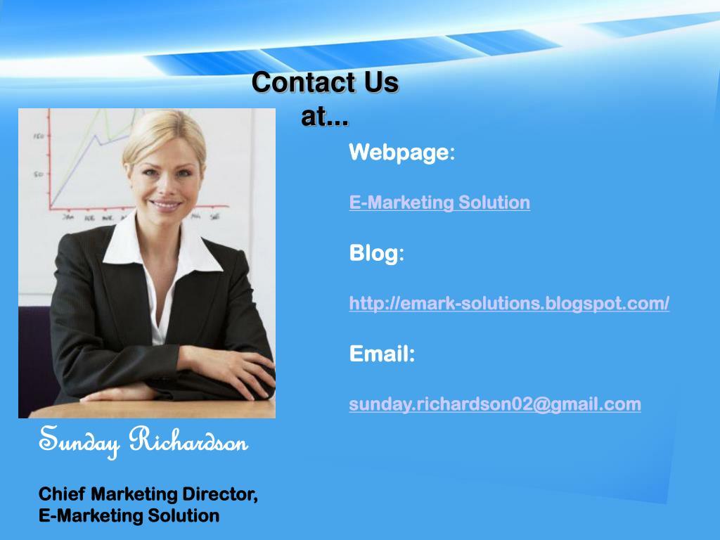 Contact Us at...