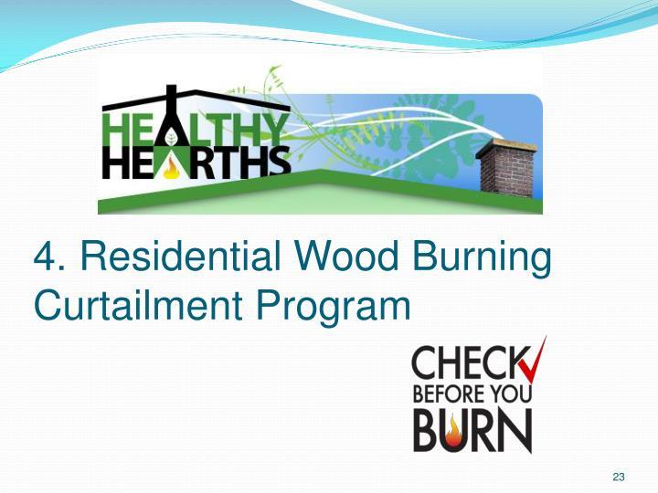 4. Residential Wood Burning