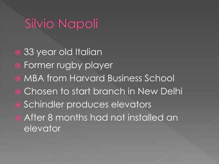 Silvio napoli