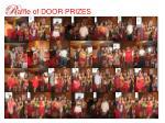 r affle of door prizes