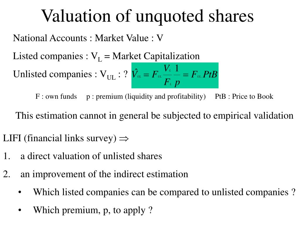 Accounting for unquoted investments with high returns prins hendrikstraat 4 zevenbergen capital investments
