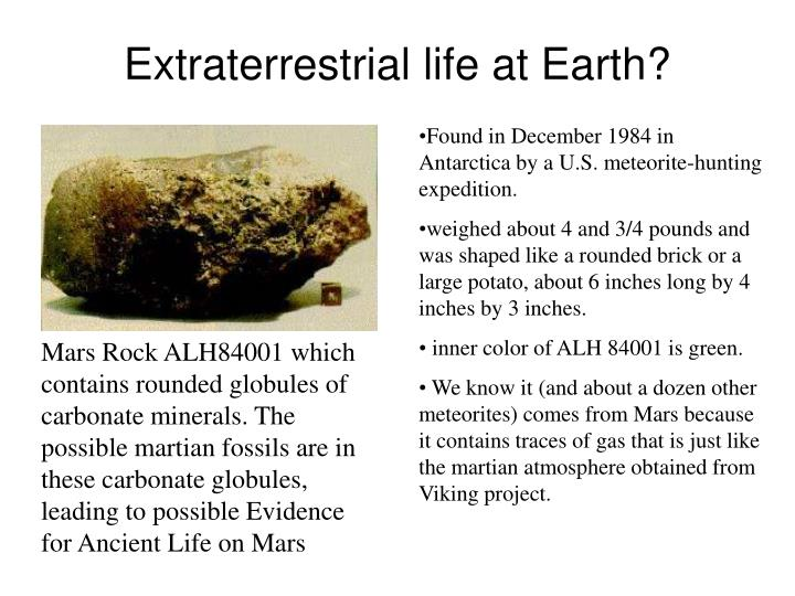 presentation extraterrestrial life Powerpoint projects for $10 - $30 due tommorow create a 10- to 12-slide powerpoint® presentation in which you discuss life on earth and the possibilities of.