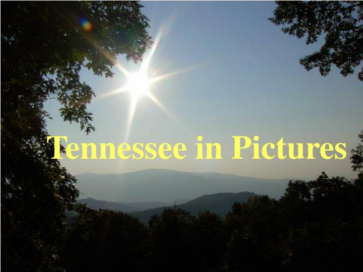tennessee in pictures n.