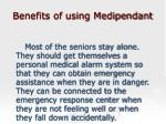 benefits of using medipendant