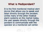 what is medipendant
