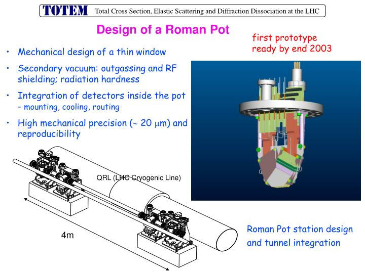 Design of a Roman Pot
