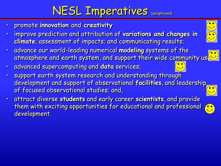 NESL Imperatives
