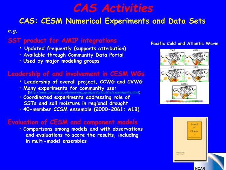 CAS Activities