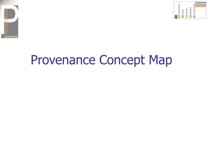 Provenance Concept Map