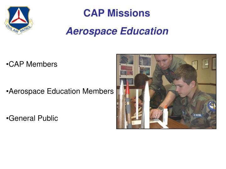 CAP Missions