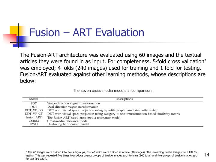 Fusion – ART Evaluation