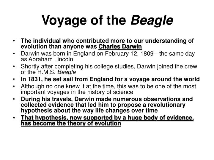 Voyage of the