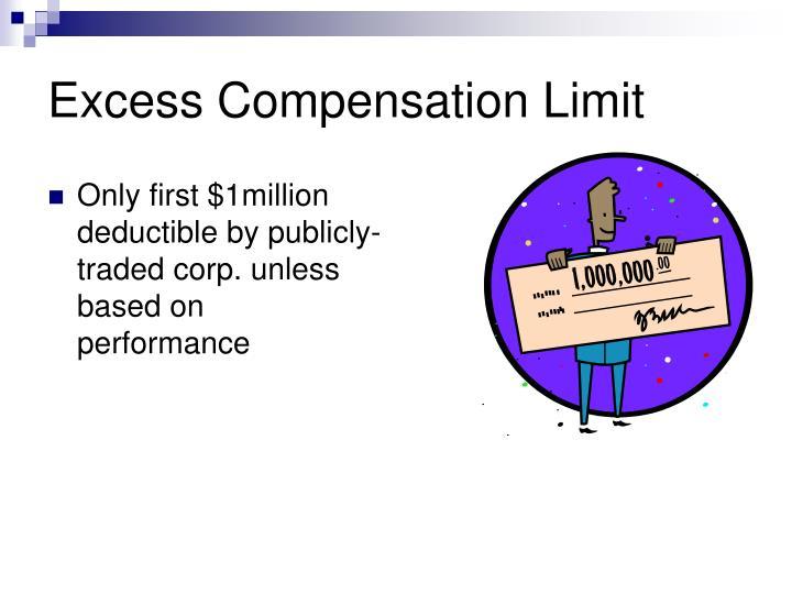 Excess Compensation Limit