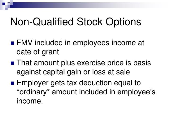 Non-Qualified Stock Options