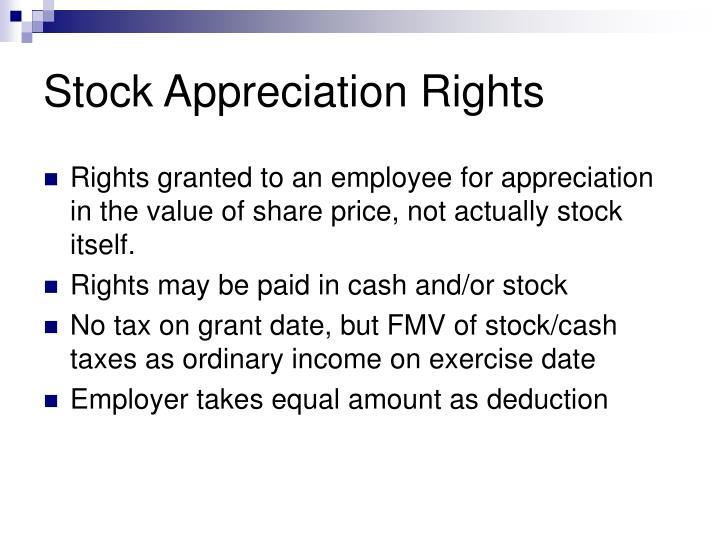 Stock Appreciation Rights